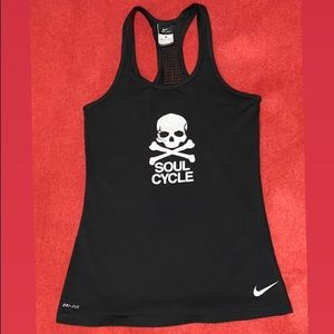 SoulCycle x Nike Dri-Fit Skull & Bone Tank Top